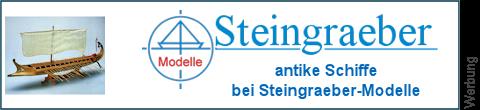 historische Schiffe bei Steingraeber-Modelle