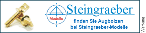 Flachkopf Messing�sen bei Steingraeber-Modelle