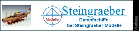 Dampfbarkassen bei Steingraeber-Modelle