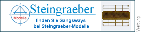 geätzte Gangways bei Steingraeber-Modelle