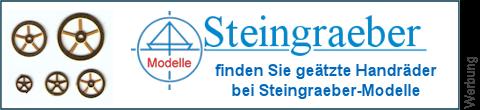 geätzte Spillräder bei Steingraeber-Modelle