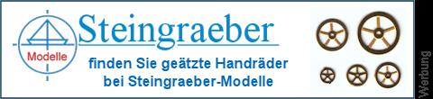 geätzte Handräder bei Steingraeber-Modelle