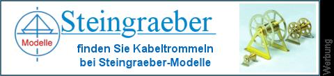 Kabeltrommeln bei Steingraeber-Modelle