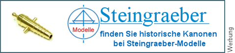 Geschützrohre bei Steingraeber-Modelle