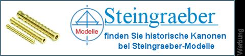 Schiffsgeschütze bei Steingraeber-Modelle