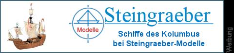 Kolumbusflotte bei Steingraeber-Modelle