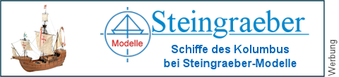 Kolumbusschiffe bei Steingraeber-Modelle