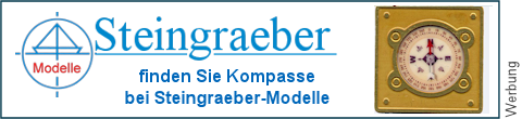 geätzte Magnetkompasse bei Steingraeber-Modelle