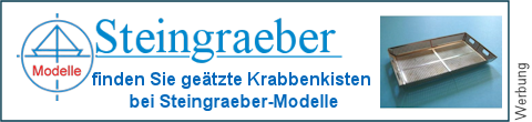 geätzte Krabbensiebe bei Steingraeber-Modelle