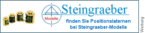 Positionslaternen bei Steingraeber-Modelle
