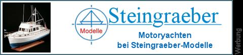 Motoryachten bei Steingraeber-Modelle