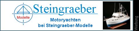 Motorjachten bei Steingraeber-Modelle