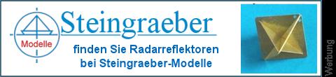 geätzte Radarreflektoren bei Steingraeber-Modelle