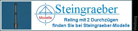 2 Durchzüge Relingspfosten bei Steingraeber-Modelle