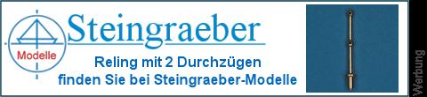 2 Durchzüge Rehlingsstützen bei Steingraeber-Modelle