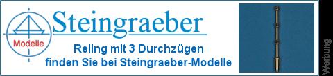 3 Durchzüge Messingstützen bei Steingraeber-Modelle