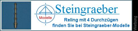 4 Durchzüge Relingsstützen bei Steingraeber-Modelle