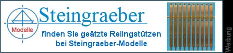 geätzte Relingsstüzen bei Steingraeber-Modelle