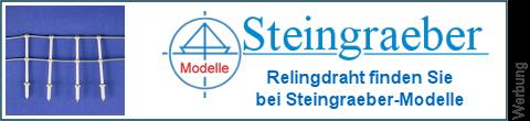Relingsdraht bei Steingraeber-Modelle