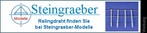 Geländerdraht bei Steingraeber-Modelle