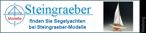 Segelboote bei Steingraeber-Modelle