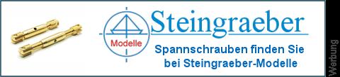 Spannschrauben Gabelköpfe bei Steingraeber-Modelle