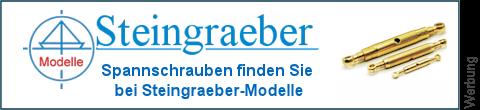 Spannschrauben Augbolzen bei Steingraeber-Modelle