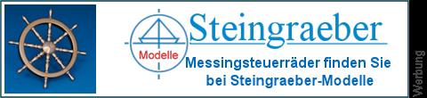 Messing Steuerruder bei Steingraeber-Modelle