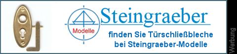 geätzte Türschlossbleche bei Steingraeber-Modelle